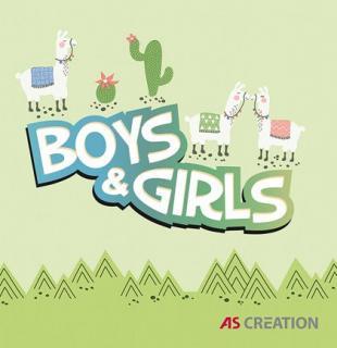 Kolekcija AS Creation - Boys & Girls 6