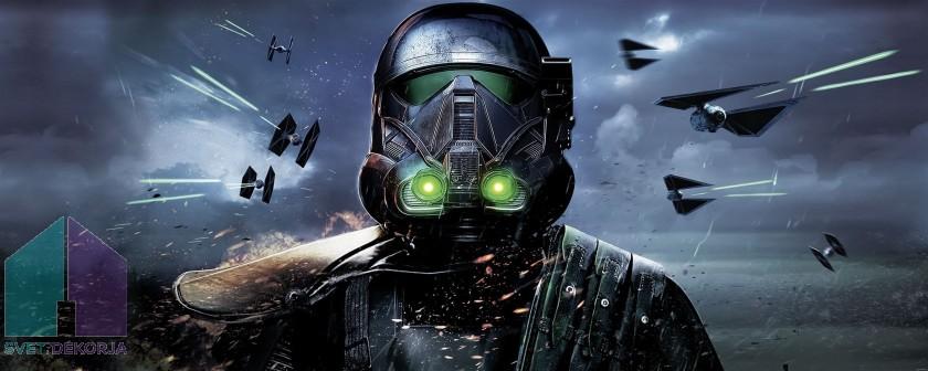Fototapeta - Star Wars Deathtrooper