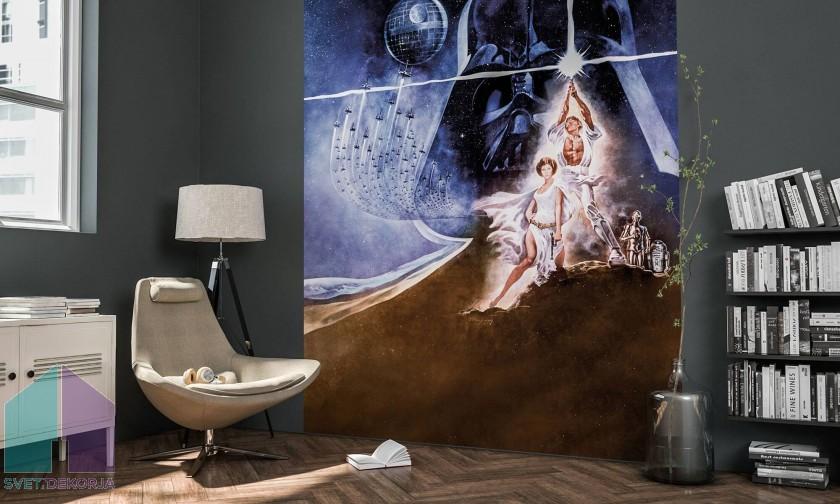 Fototapeta - Star Wars Poster Classic2