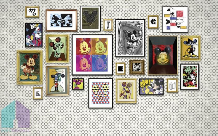 Fototapeta - Mickey Art Collection