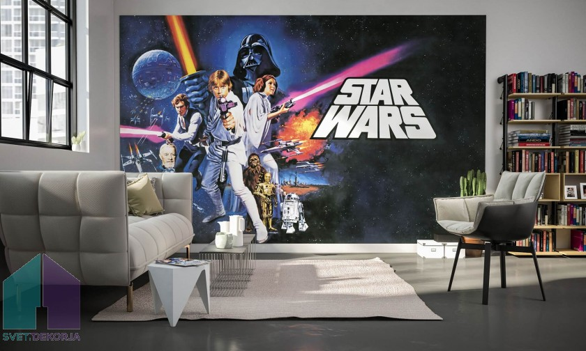 Fototapeta - Star Wars Poster Classic 1