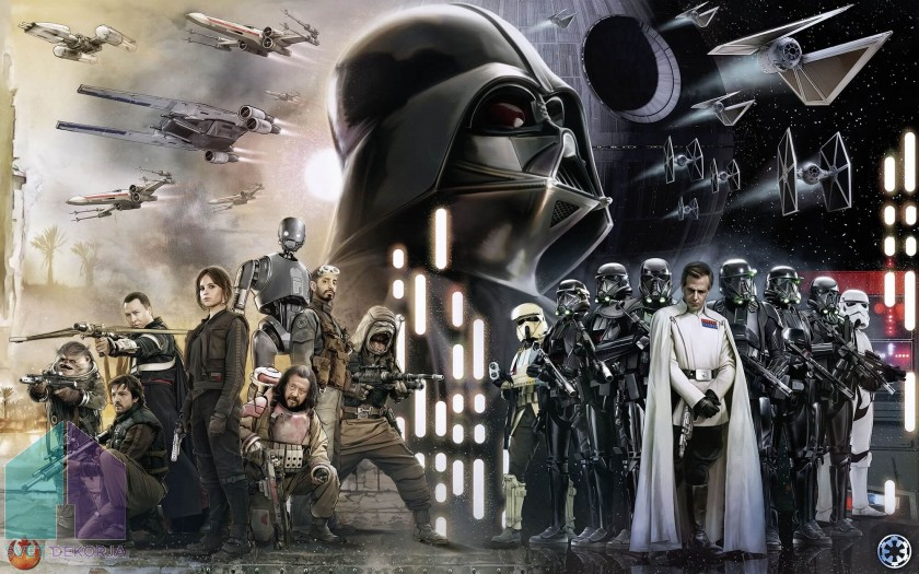Fototapeta - Star Wars Collage
