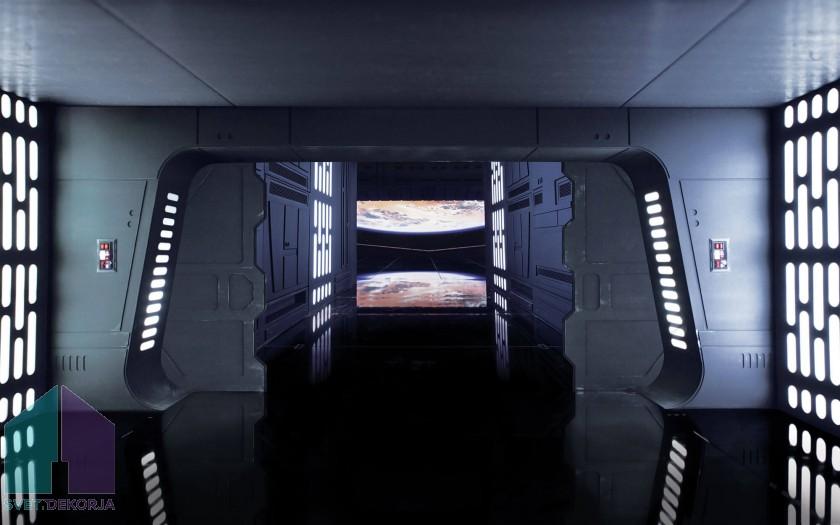 Fototapeta - Star Wars Death Star Floor