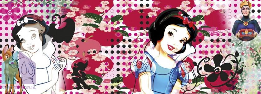 Fototapeta - Charming Snow White