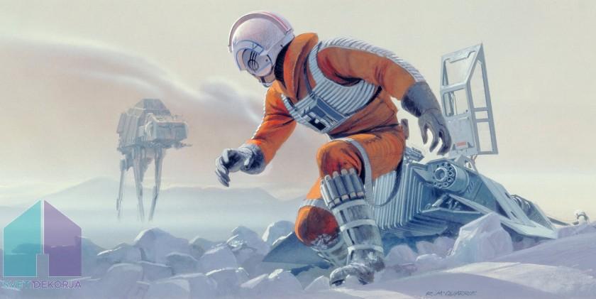 Fototapeta - Star Wars Classic RMQ Hoth Battle Pilot