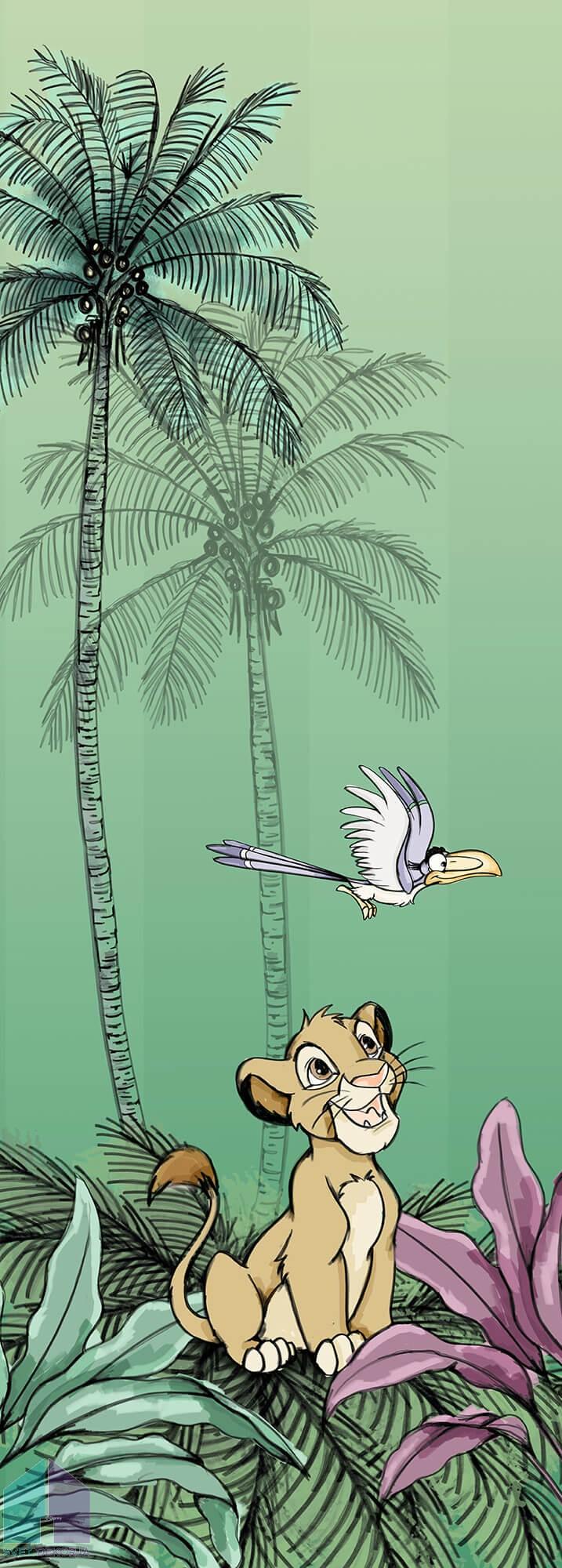 Fototapeta - Jungle Simba