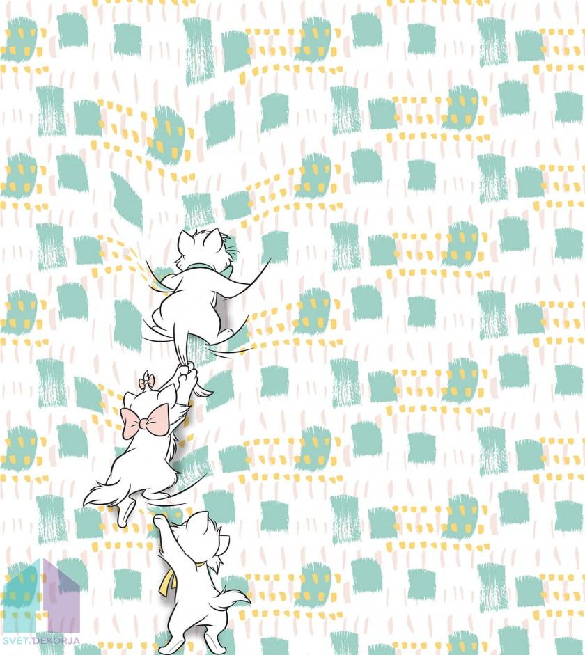 Fototapeta - Kitty Climbers