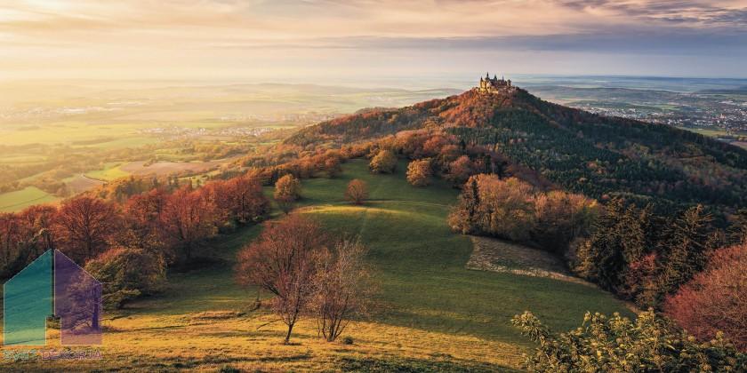 Fototapeta - Fairy Tale Castle