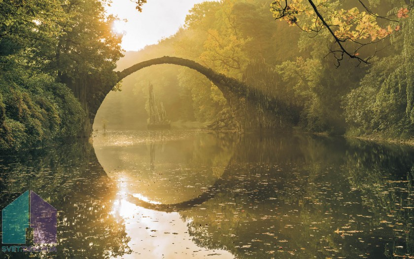 Fototapeta - Devil's Bridge