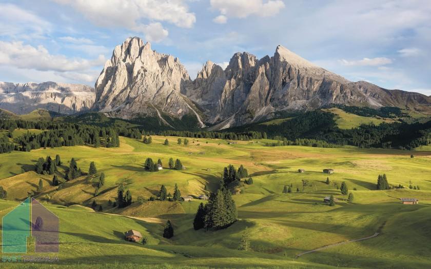 Fototapeta - Alpen