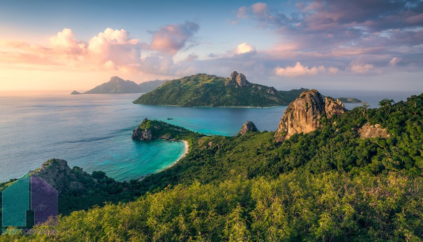 Fototapeta - Otok opic