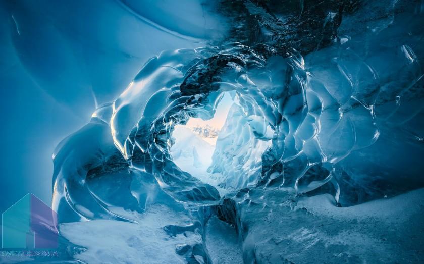 Fototapeta - Oko ledenika