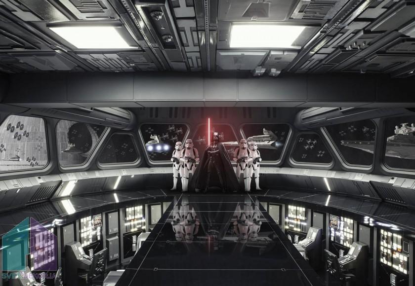 Fototapeta - STAR WARS Destroyer Deck