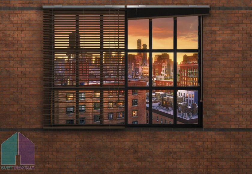 Fototapeta - Brooklyn Brick