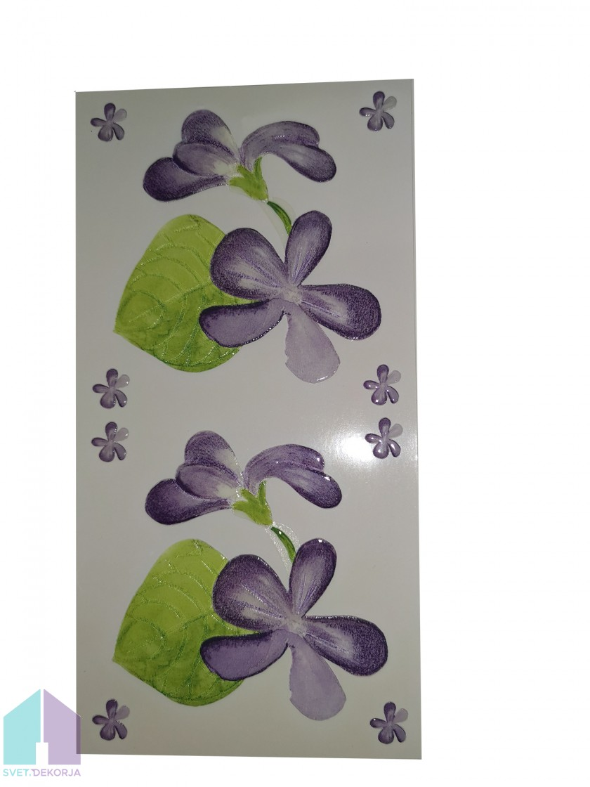 Decor style vijolica -