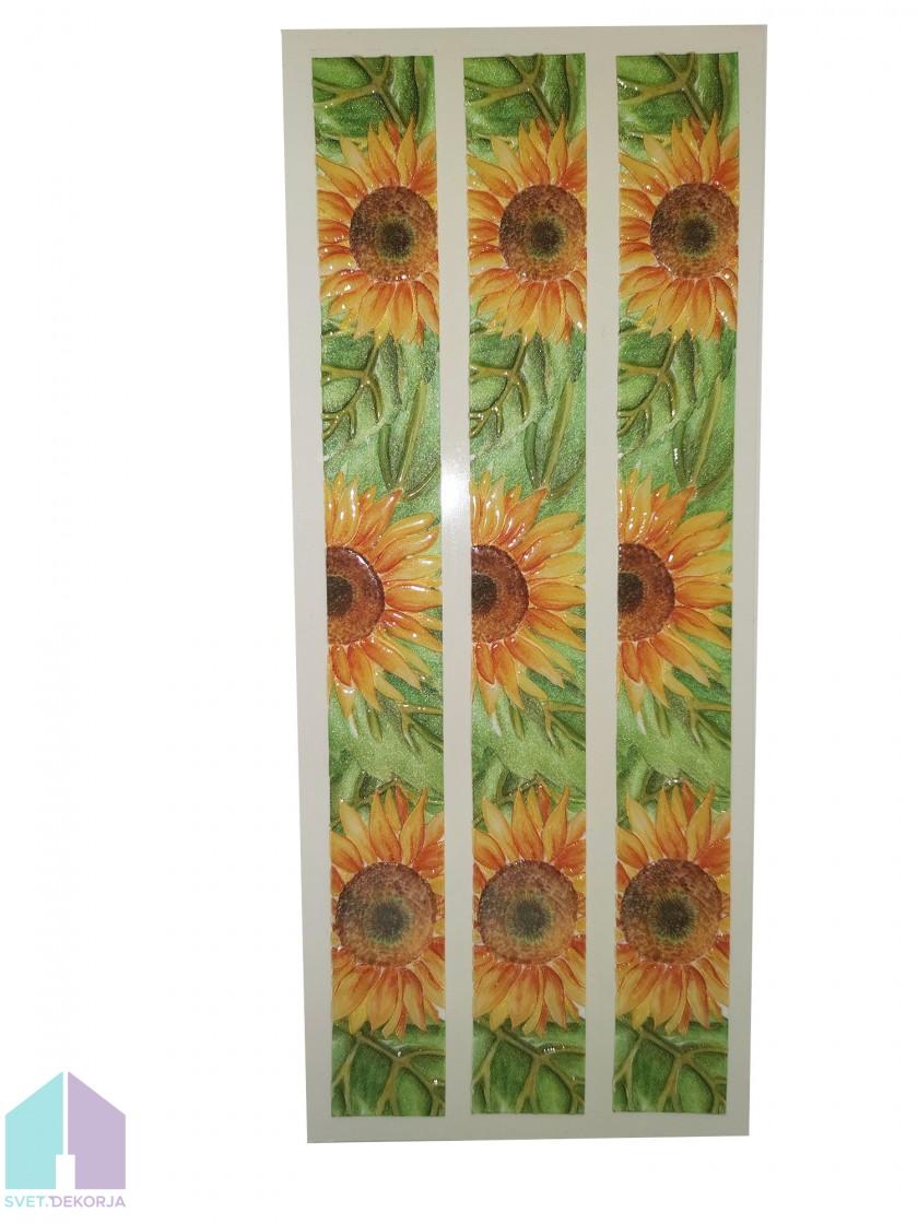 Decor style obroba sončnice -