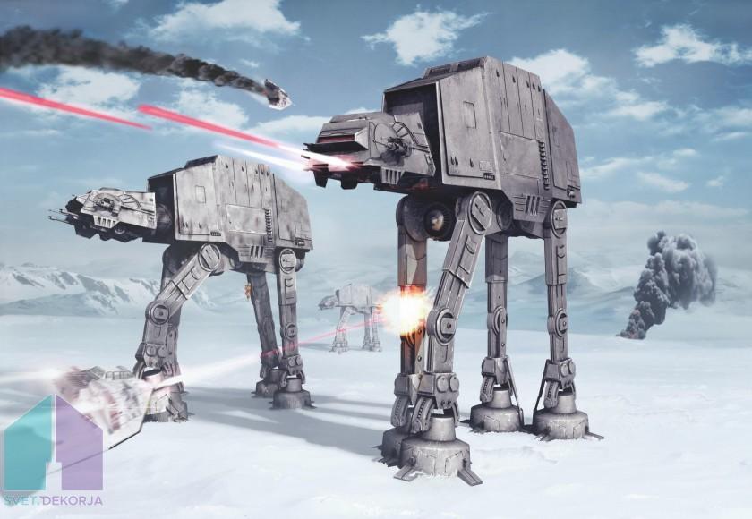 Fototapeta - STAR WARS Battle of Hoth