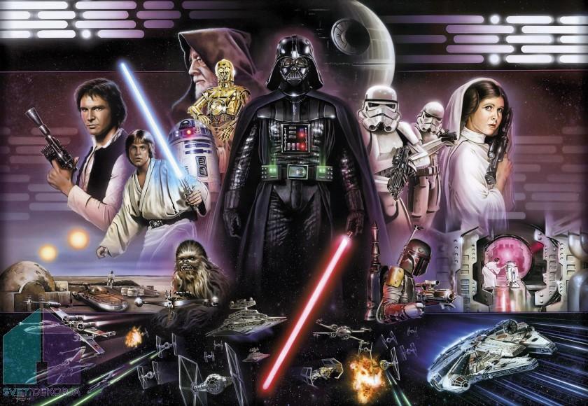 Fototapeta - STAR WARS Darth Vader Collage