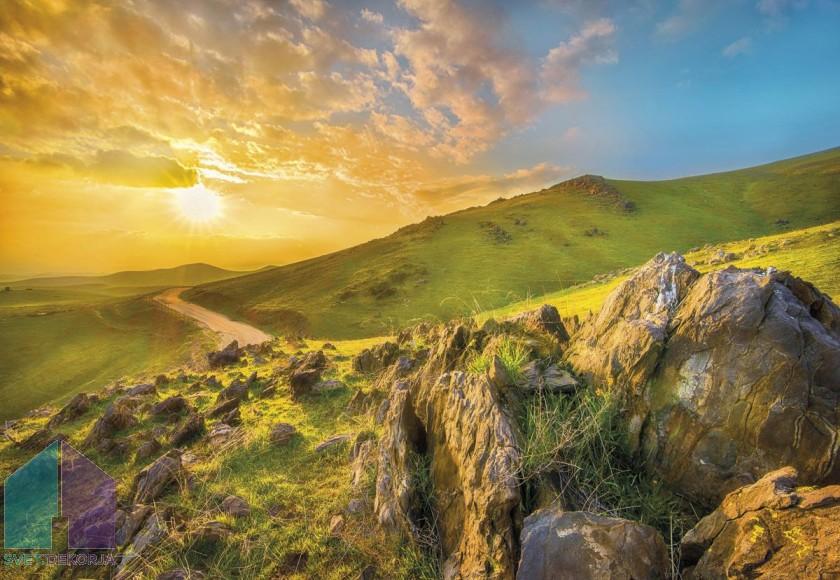 Fototapeta - Mountain Morning