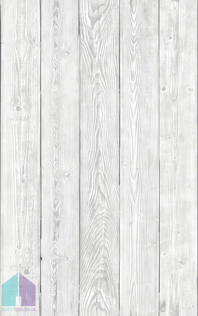 Samolepilna folija kos - Dekor Shabby wood