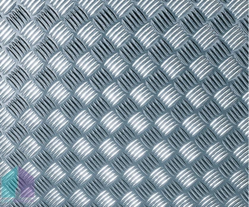 Samolepilna folija - Metalik rebrasta pločevina srebrna sijaj