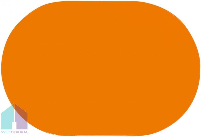 Namizni pogrinjek - Colora Uni oranžna