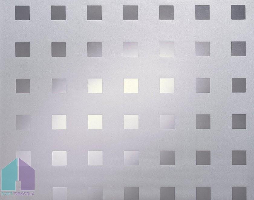 Statik folija kos - Transparent Caree