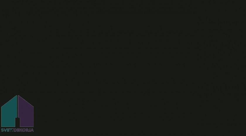 Samolepilna folija - Mat črna