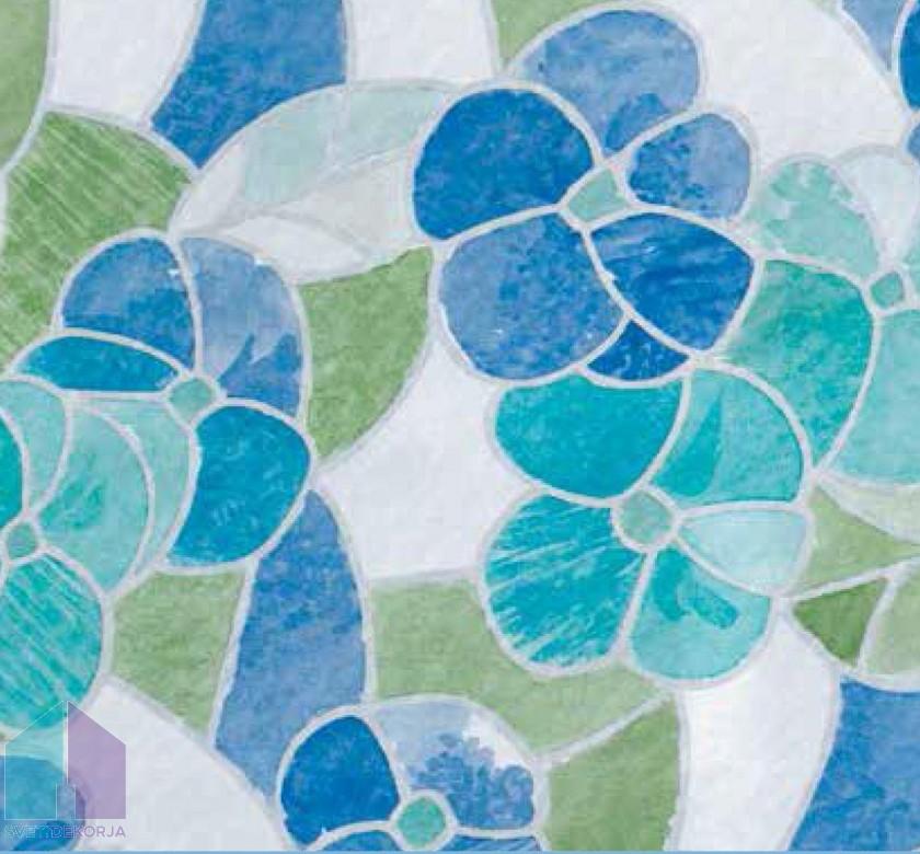 Samolepilna folija kos - Transparent Lisboa modra