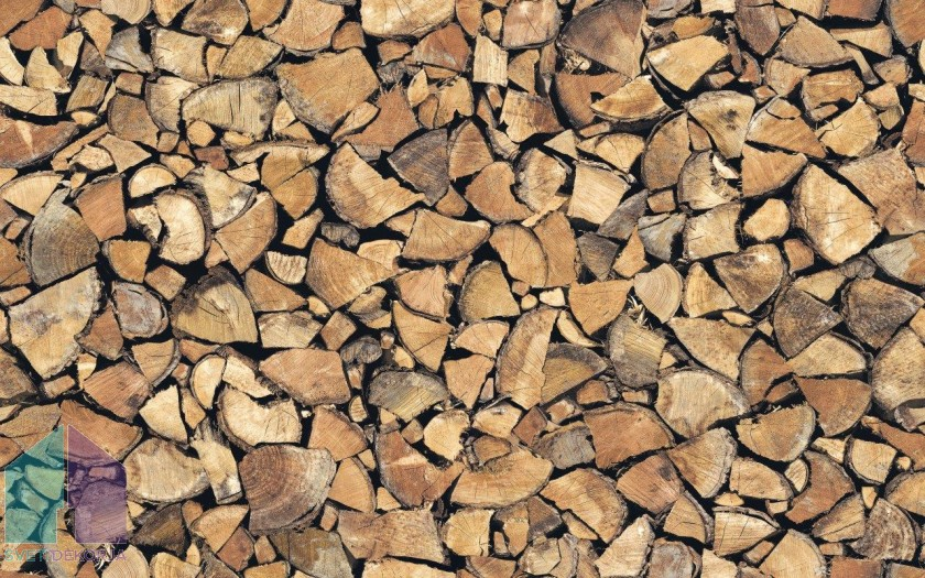 Samolepilna folija kos - Les drva