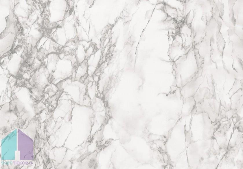 Samolepilna folija kos - Marmor marmi siv