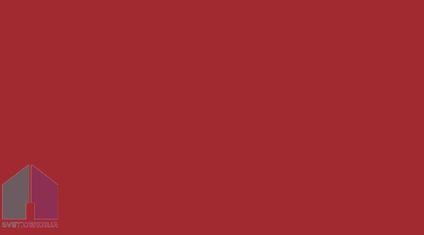 Samolepilna folija kos - Lak signalna rdeča