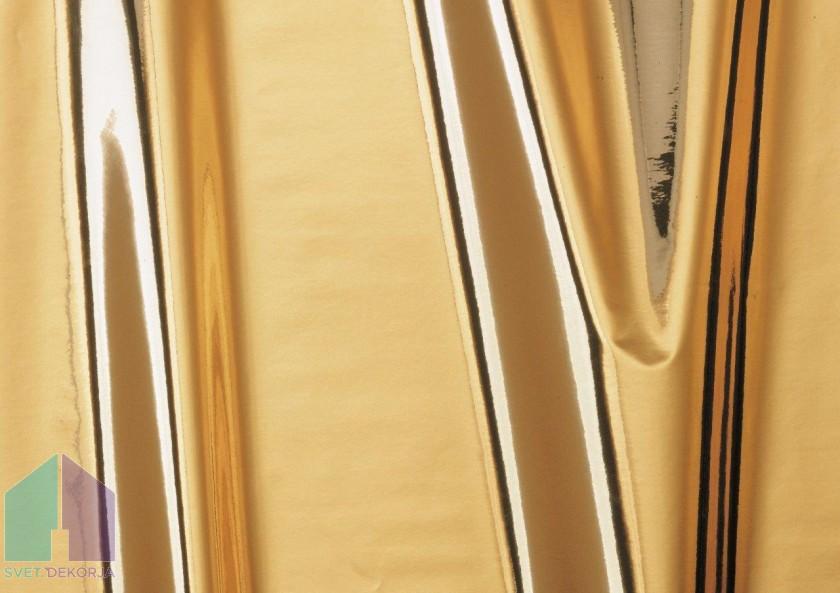 Samolepilna folija kos - Metalik zlata sijaj