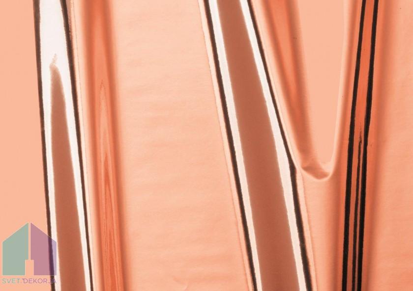 Samolepilna folija kos - Metalik rosegold