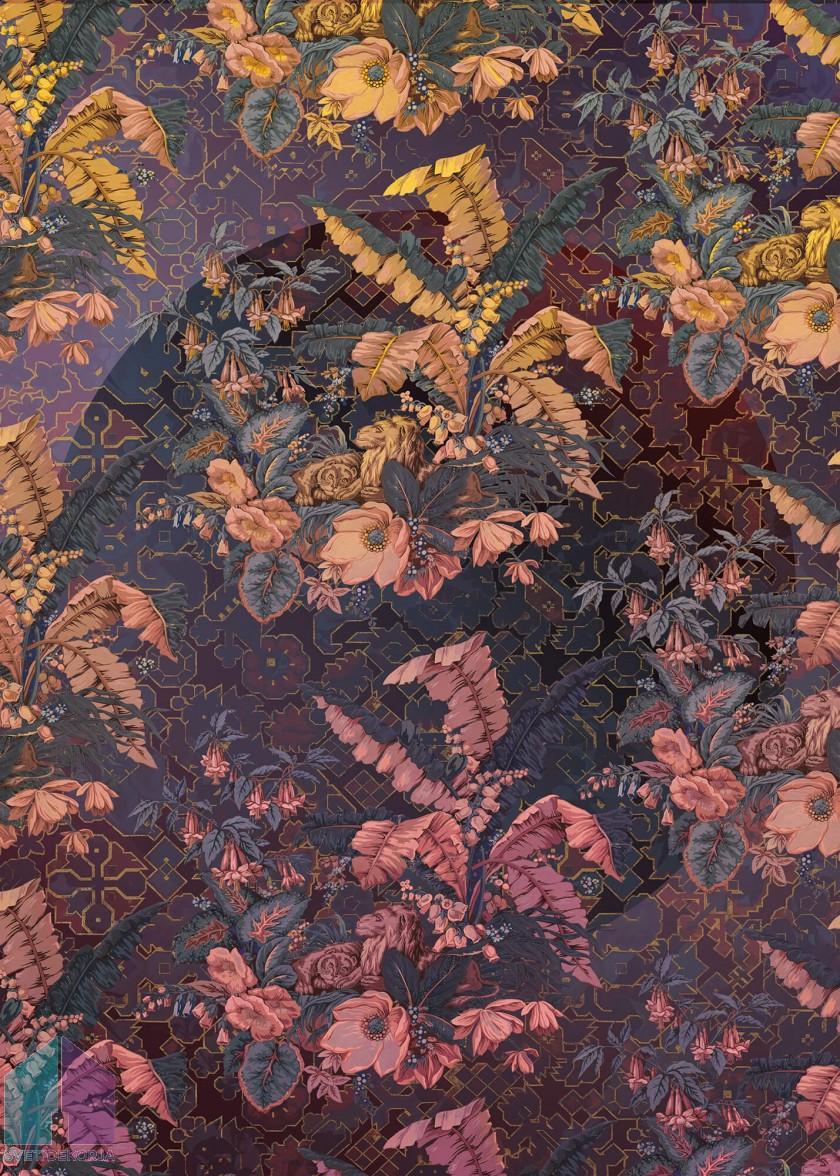 Fototapeta - Orient Violet