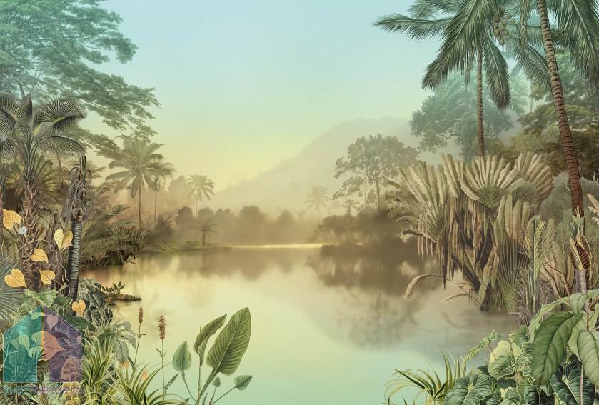 Fototapeta - Lac Tropical
