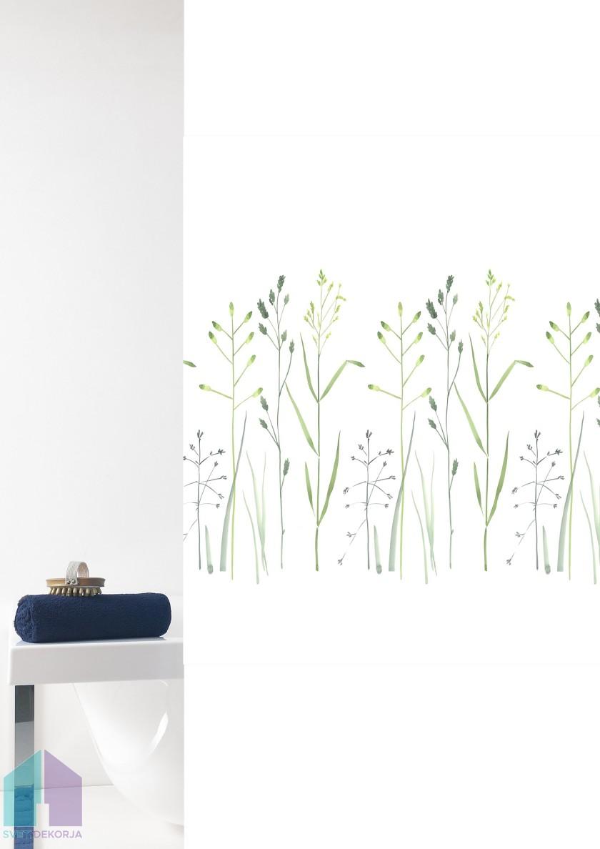 Kopalniška zavesa - Tekstil Prato zelena