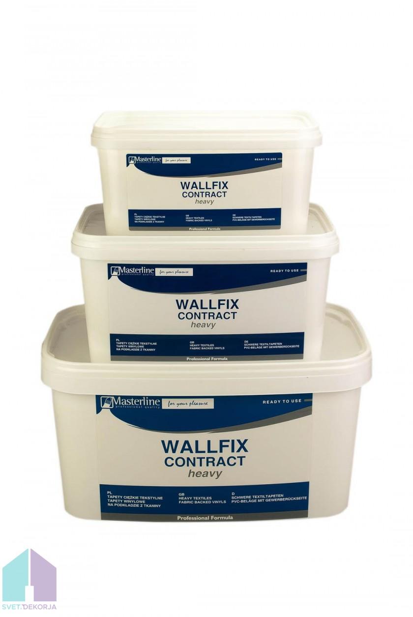 Pripravljeno lepilo za tapete - Wallfix Heavy 5 kg