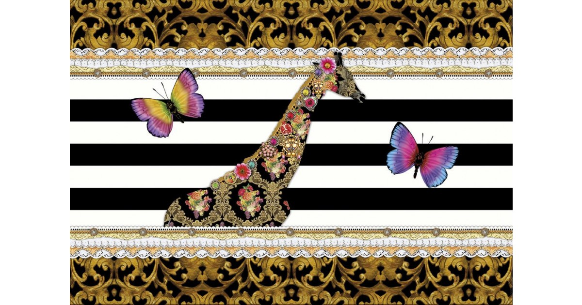 foto tapeta melli mello giraffe. Black Bedroom Furniture Sets. Home Design Ideas