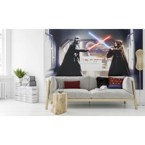Fototapeta - Star Wars Vader vs. Kenobi
