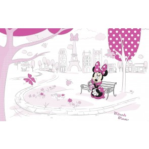 Fototapeta - Minnie in Paris