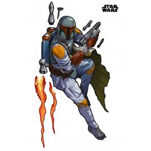 Dekorativna nalepka - Star Wars XXL Boba Fett