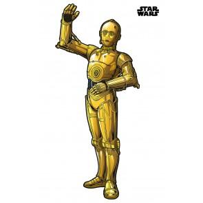 Dekorativna nalepka - Star Wars XXL C-3PO