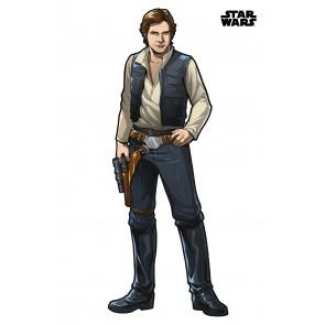 Dekorativna nalepka - Star Wars XXL Han Solo