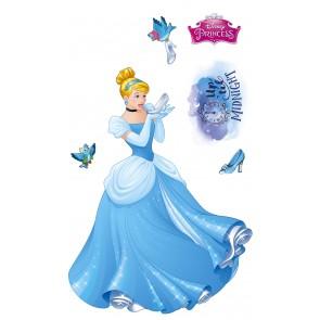Dekorativna nalepka - Cinderella XXL