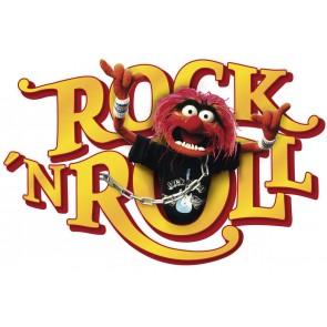 Dekorativna nalepka - Muppets Tier Rock´n´Roll