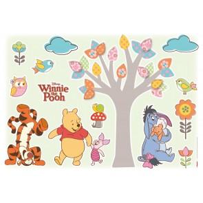 Dekorativna nalepka - Winnie Pooh Nature Lovers