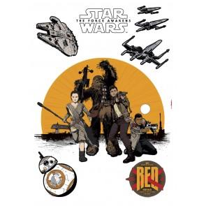 Dekorativna nalepka - Star Wars Resistance