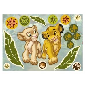 Dekorativna nalepka - Simba and Nala