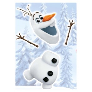 Dekorativna nalepka - Frozen Olaf